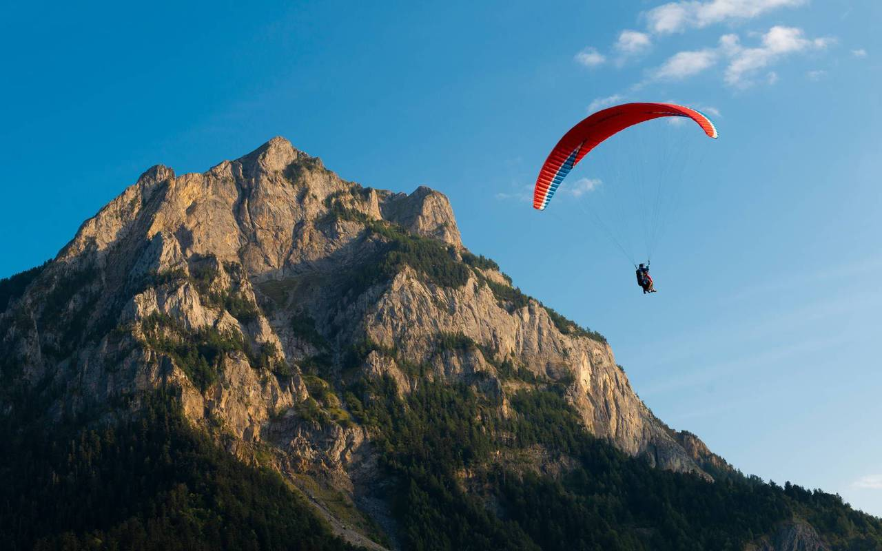 Paragliding, boutique hotel hautes-alpes, Les Bartavelles