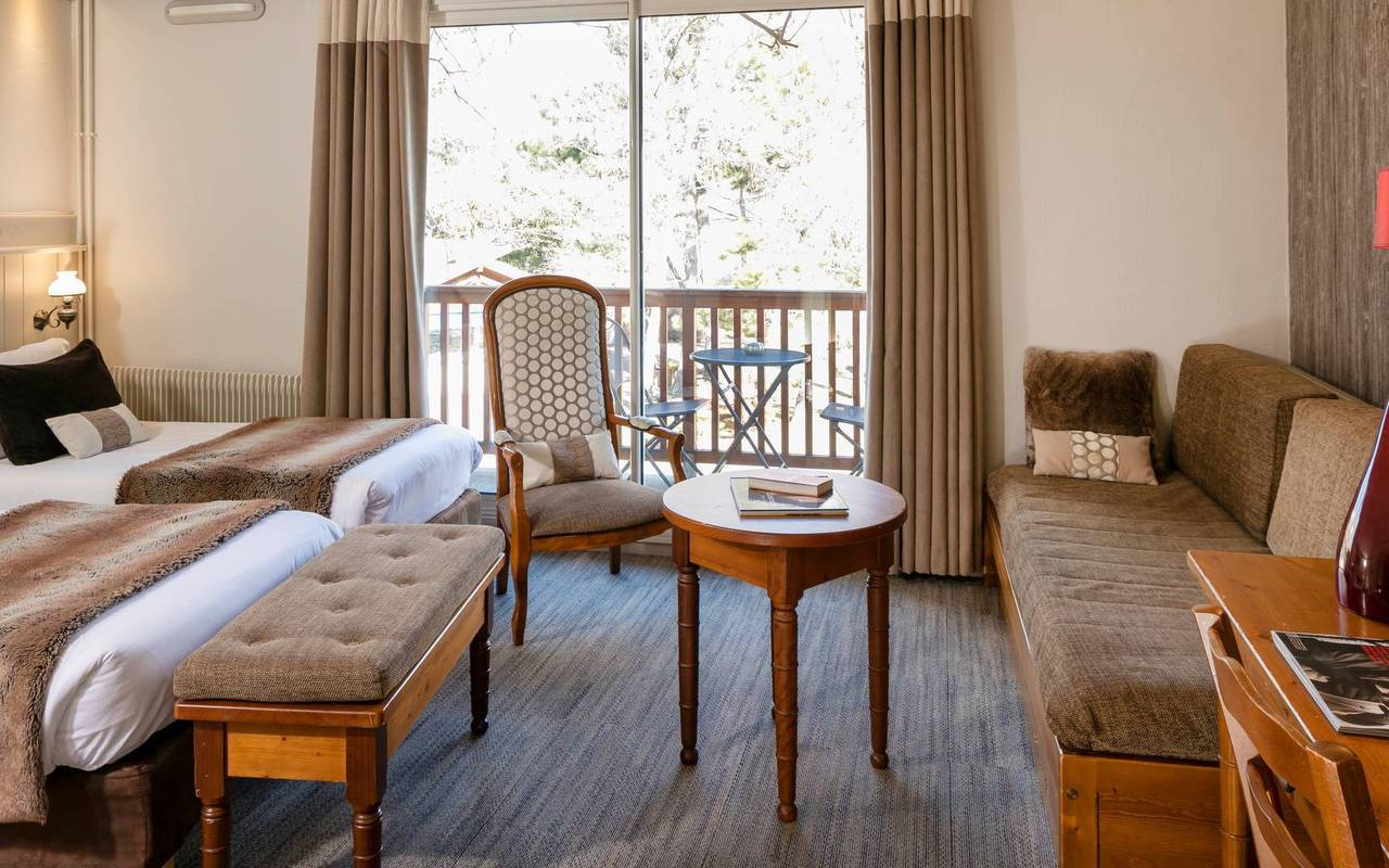 Room with view, boutique hotel hautes-alpes, Les Bartavelles
