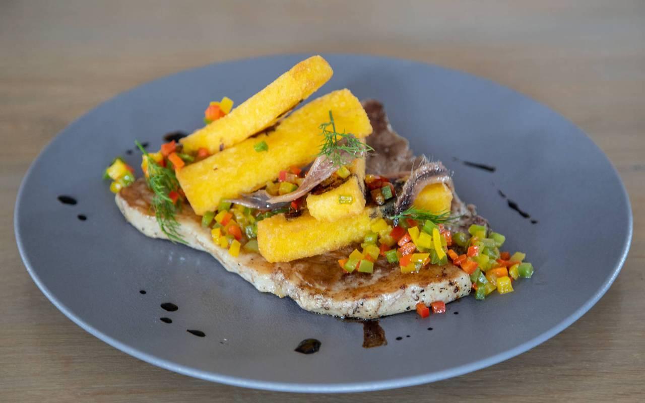 Meat dish, boutique hotel hautes-alpes, Les Bartavelles