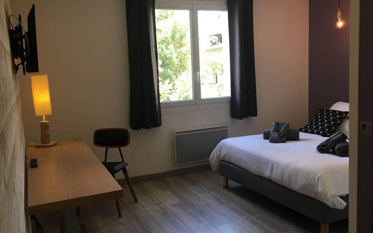 Chambre chic, hôtel spa Hautes-Alpes, Les Bartavelles