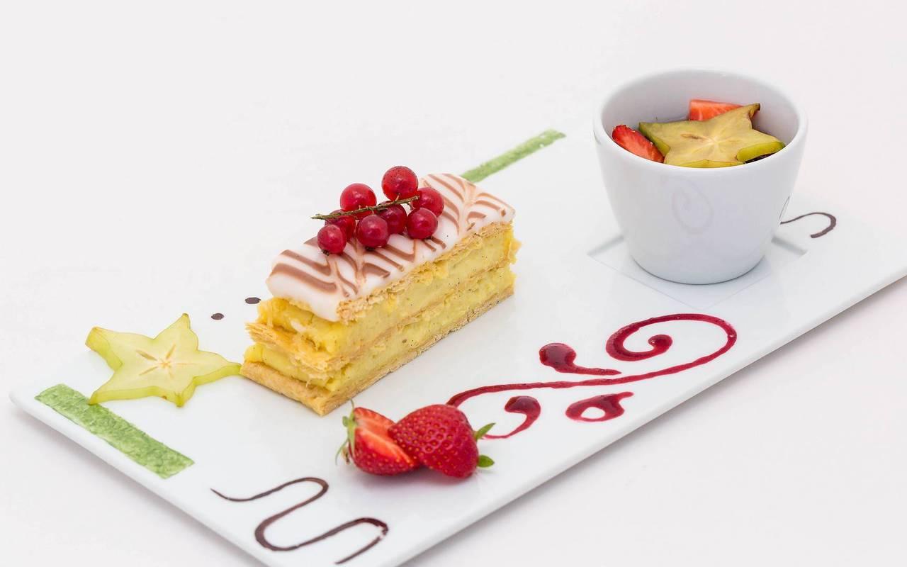 Dessert, hôtel de charme hautes-alpes, Les Bartavelles